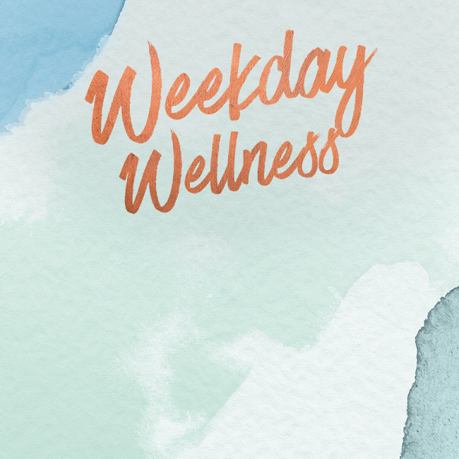 Weekday Wellness at The Saxon Mill