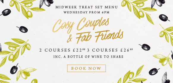 Midweek treat set menu at The Saxon Mill