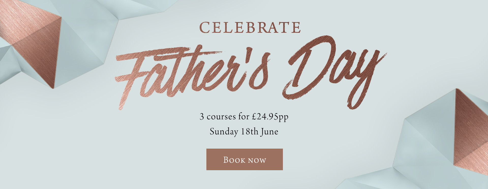Father's Day at The Saxon Mill - Book now
